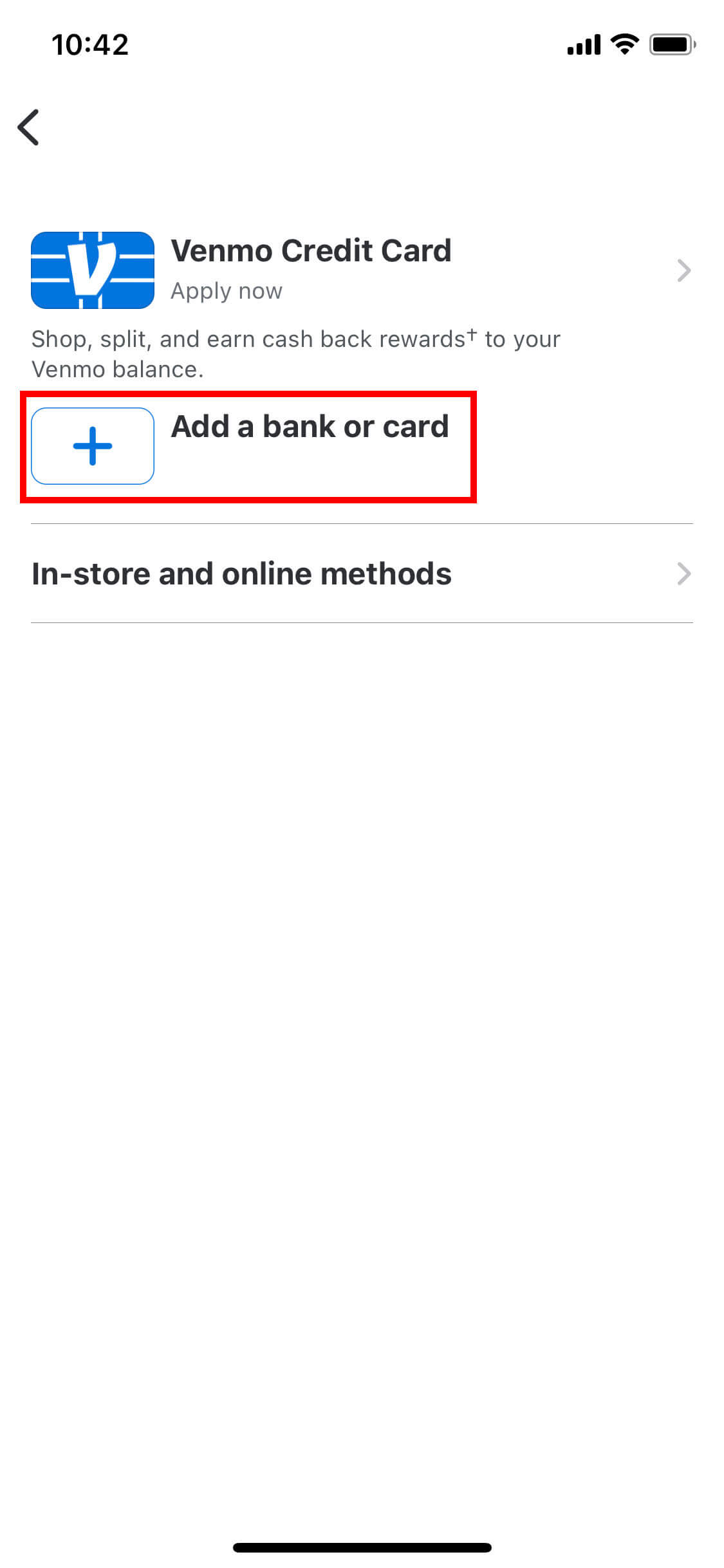 How to link your chime account with venmo 3