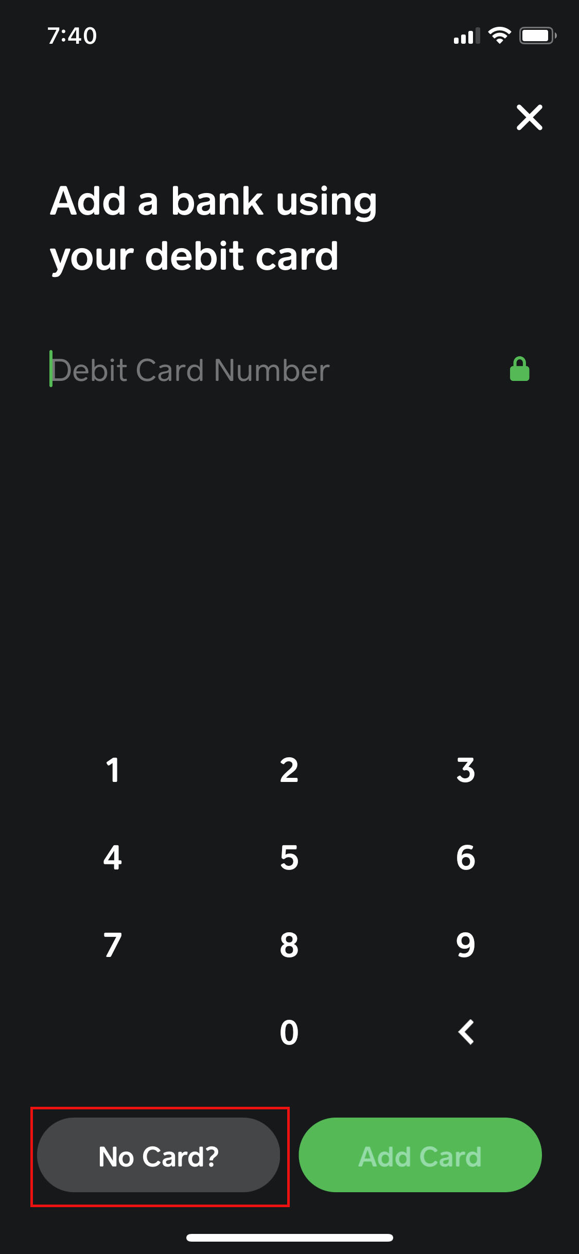 using cash app with chase bank